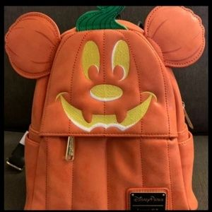 Disney Mickey Mouse Pumpkin backpack